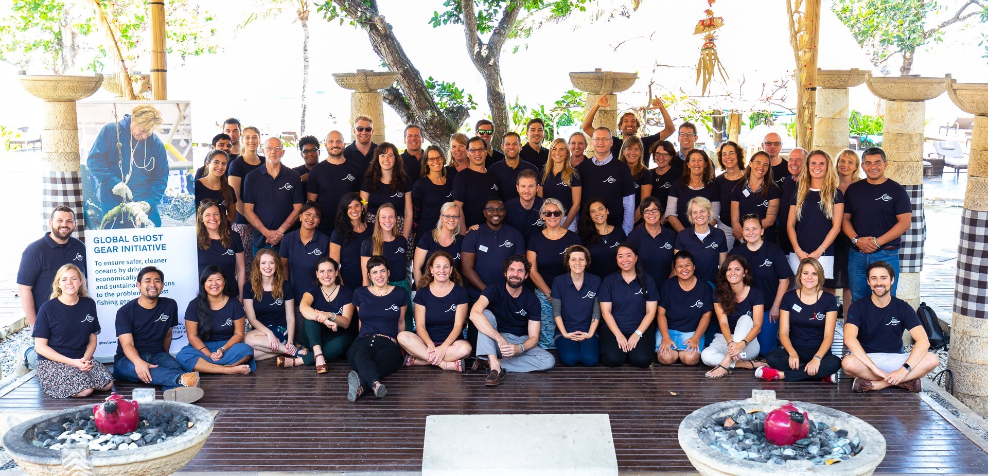Attendees at the Global Ghost Gear Initiative AGM in Bali in October 2018