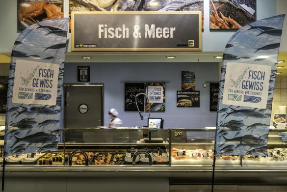 FischGewiss Kampagne Supermarkt Edeka